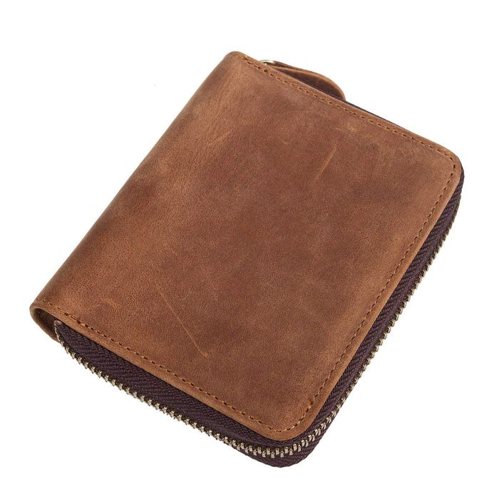 Genuine Leather Retro Wallet Only £4.27 (Prime Delivery)