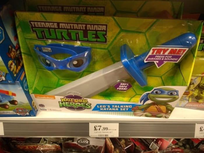 Turtles Trainning Set - Liverpool Home Bargains Should Be Nationwide