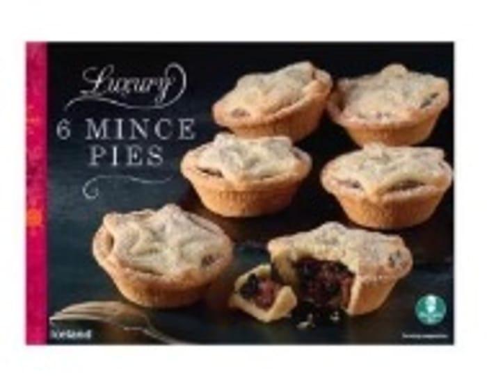 Free Iceland Luxury 6 Mince Pies W/ Code