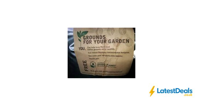 Free Coffee Grounds at Starbucks for Your Garden and Compost Bin!!!
