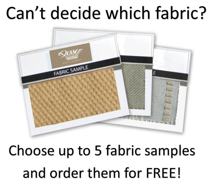5 FREE SAMPLES of Fabric!