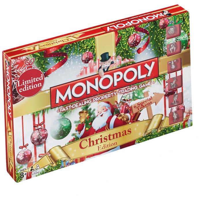 Monopoly: The Christmas Edition!