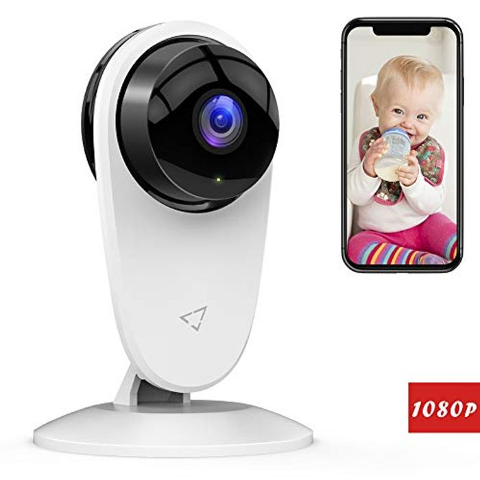 1080p WiFi Home Security Camera Baby Monitor