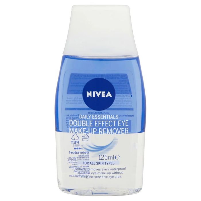 Discount on Nivea Daily Essentials Double Effect Eye Make-up Remover 125ml