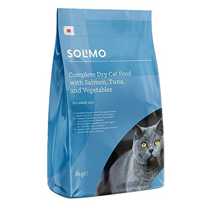 Amazon Complete Dry Cat Food with Salmon, Tuna, and Vegetables 3kg
