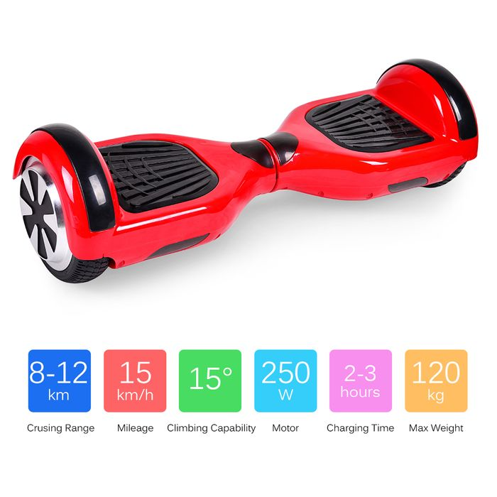 Flash Deal for Two Wheels Self Balancing Electric Scooter