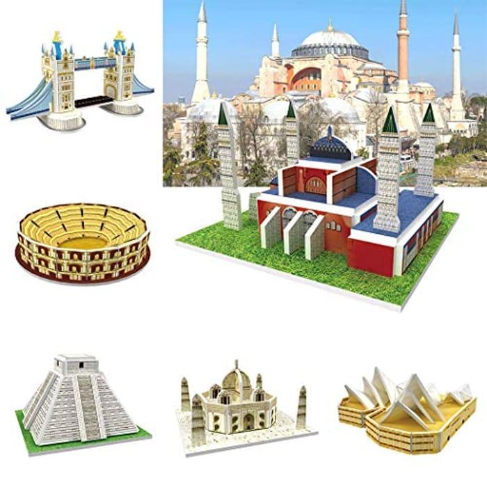 3D Puzzle Building for Kids.