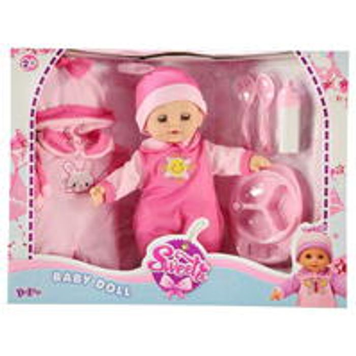 Deluxe My First Baby Doll Set