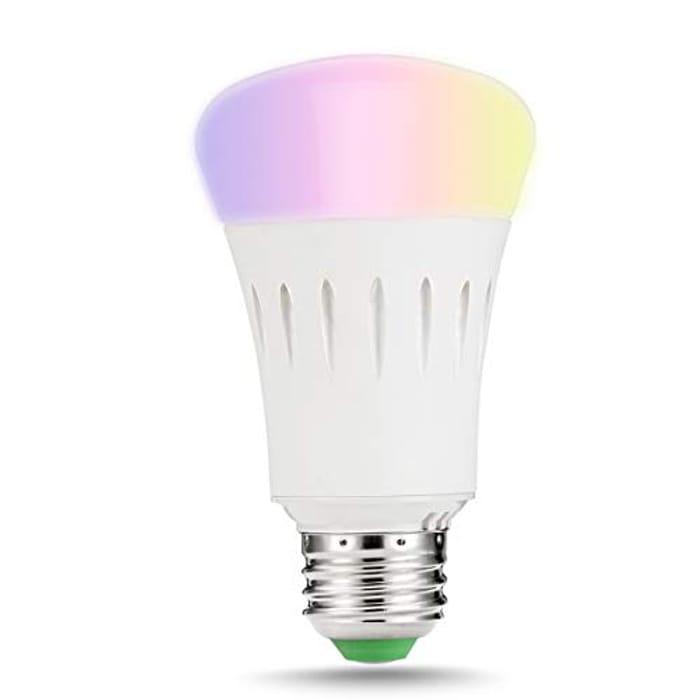 Smart LED Bulb (Alexa, Google, IFTTT) Multiple Colours