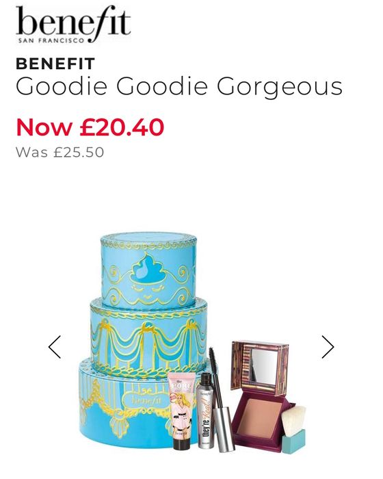 Benefit Gift Set- 2 Full Size and a Mini. worth Nearly £60