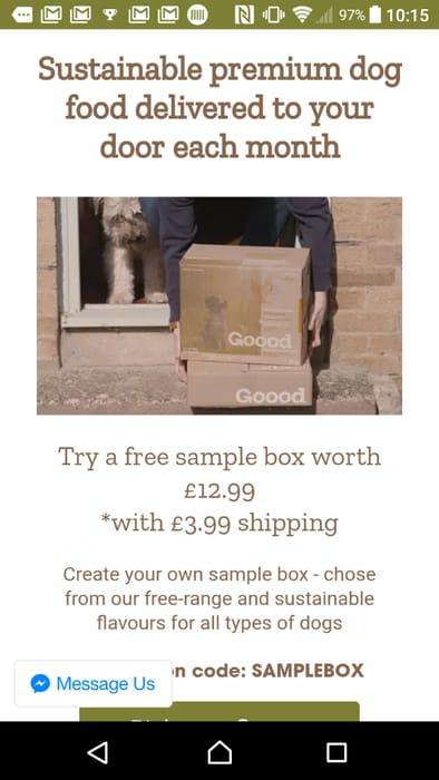 Premium Sustainable Dog Sample Box