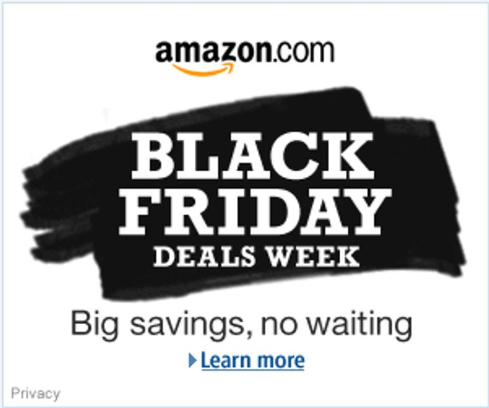 Great Black Friday Deals at Amazon