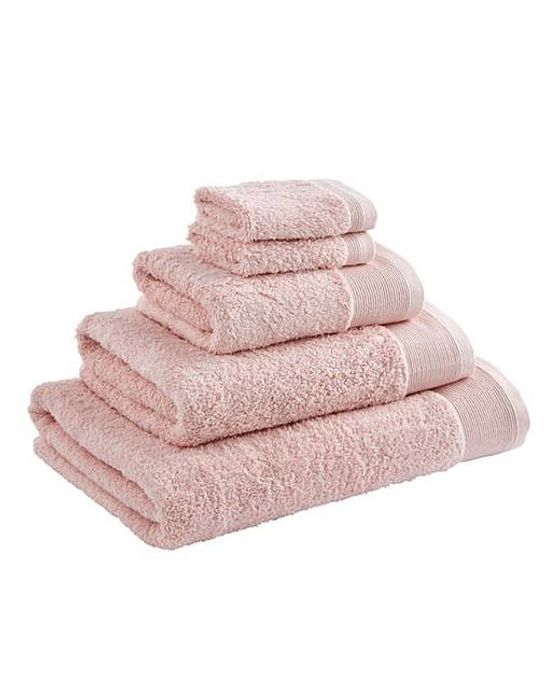 Egyptian Cotton Towel Range Chalk (from £3)