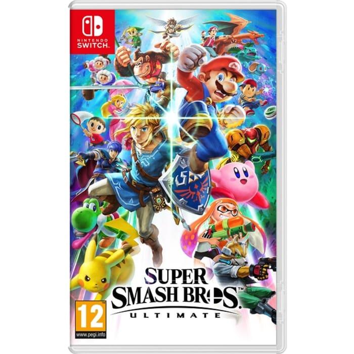 Super Smash Bros. Ultimate (Nintendo Switch) [Pre-Order]