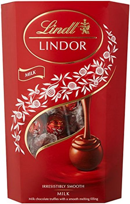 Lindt Lindor Milk Chocolate 48 Truffles 600 G Amazon Deal