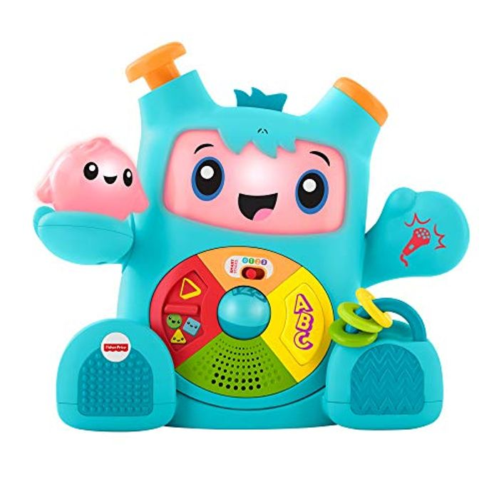 Fisher-Price FXC02 Dance and Groove Rockit, Baby Learning Robot Amazon
