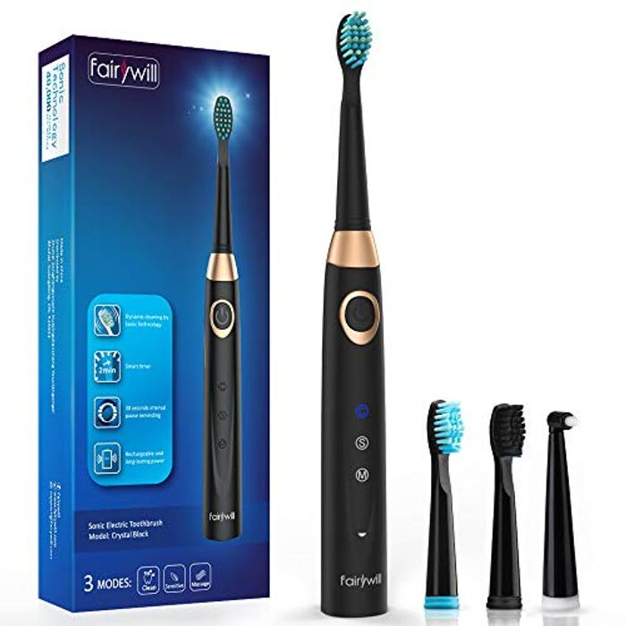 Electric Rechargeable Toothbrush Only £8.99