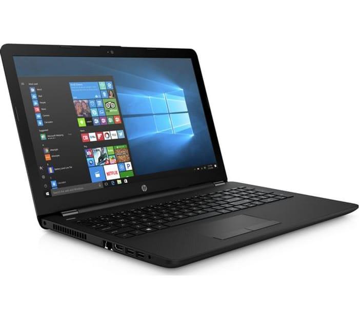 "HP15.6"" Intel Core i3 Laptop - 500 GB HDD, Black"