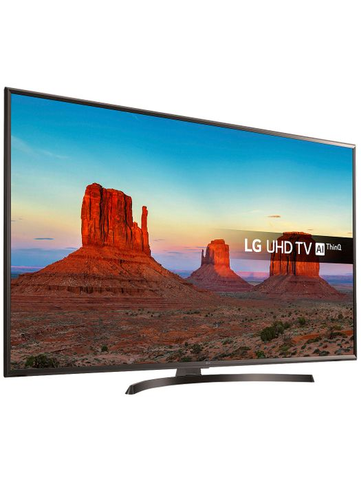 """LG LED HDR Ultra HD Smart 4K TV, 65"""" with Freeview Play/Freesat HD"""