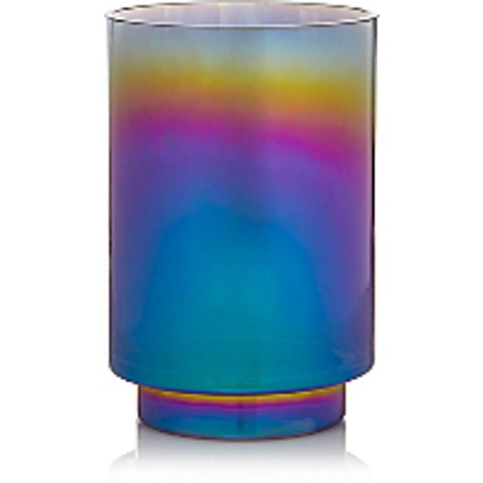Iridescent Glass Vase