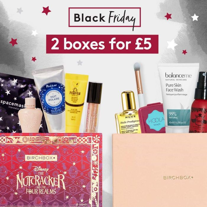 Birchbox Black Friday Deal - 2 Boxes For £5 + £2.95 p&p!