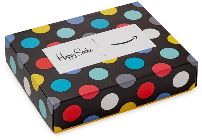 Free £10 Happy Socks with £100 Amazon Gift Voucher