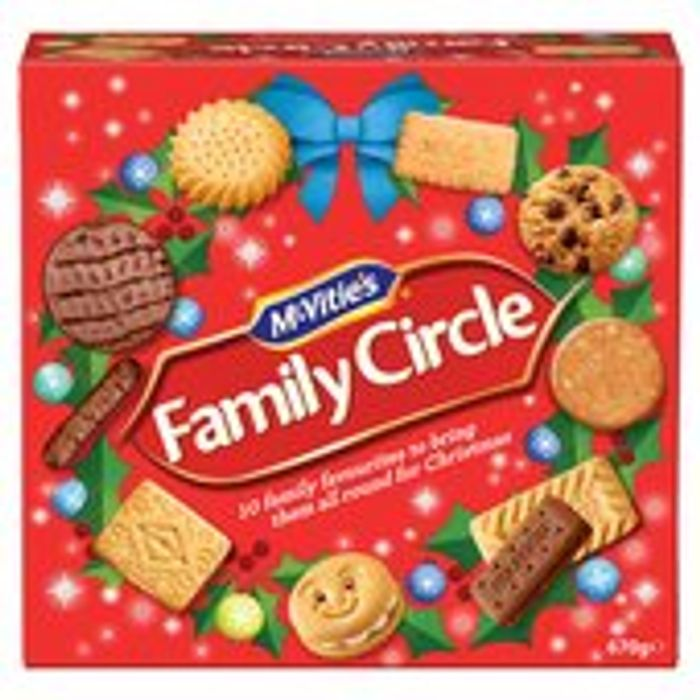 McVities Family Circle 670g for £2 Instore and Online Morrisons and Asda