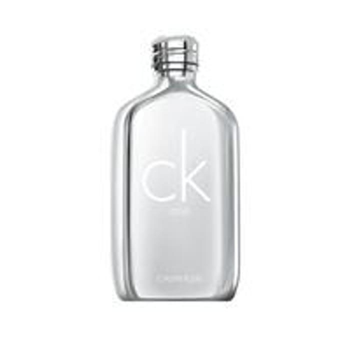 Calvin Klein Ck One Platinum Limited Editon 100ml Eau De Toilette