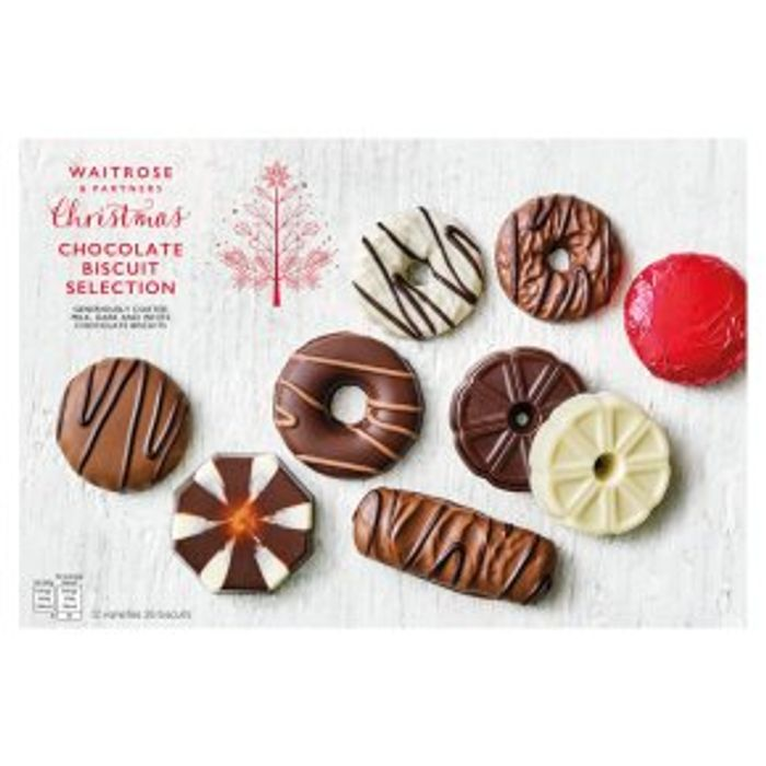 Xmas Chocolate Biscuits
