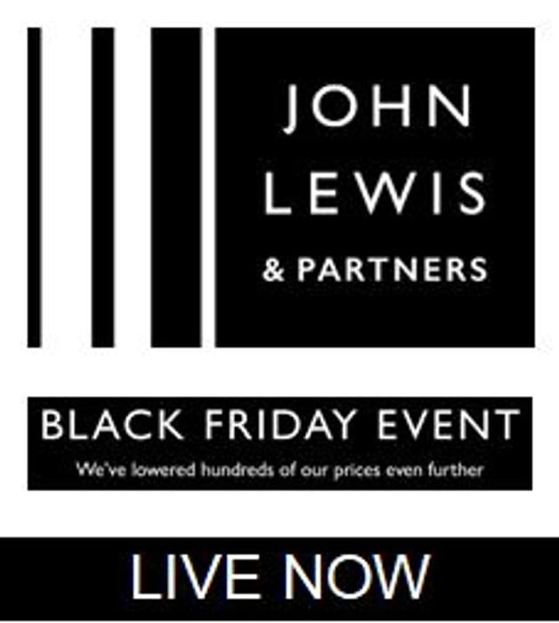 John Lewis Black Friday Deals Live Now Latestdeals Co Uk