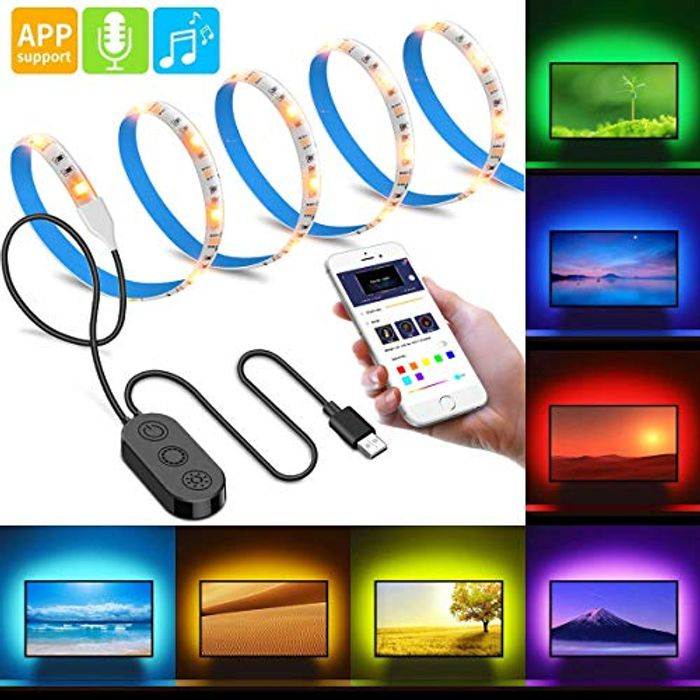 Extra 50%Off USB LED TV Backlight with APP Control