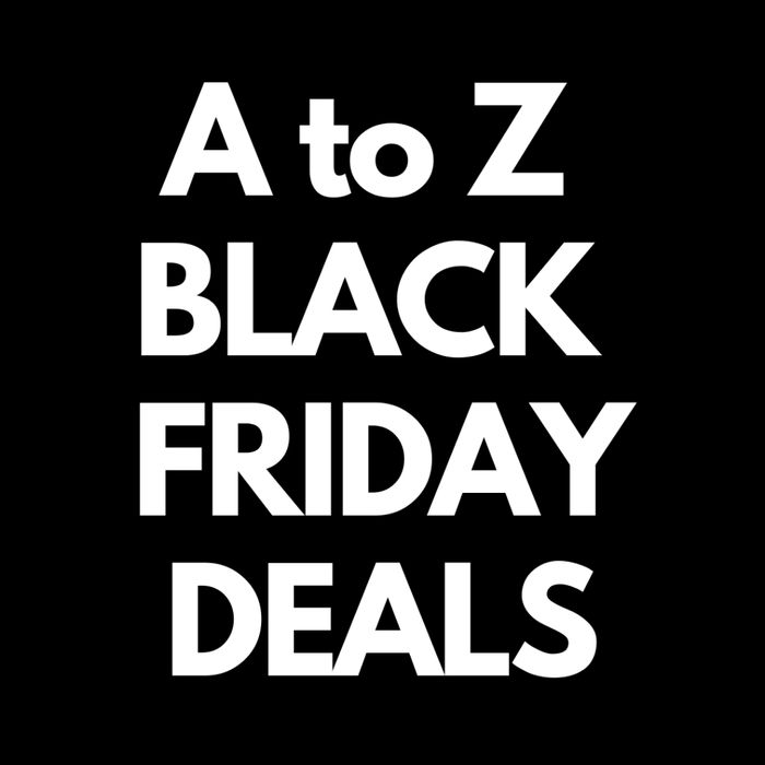 A to Z of Black Friday Deals