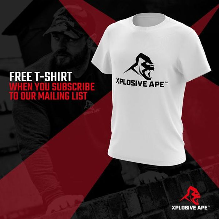 Free £24.99 Xplosive Ape T-Shirt (£3.50 Shipping)