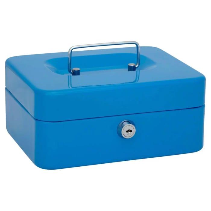 Wilko Cash Box (Assorted Color)