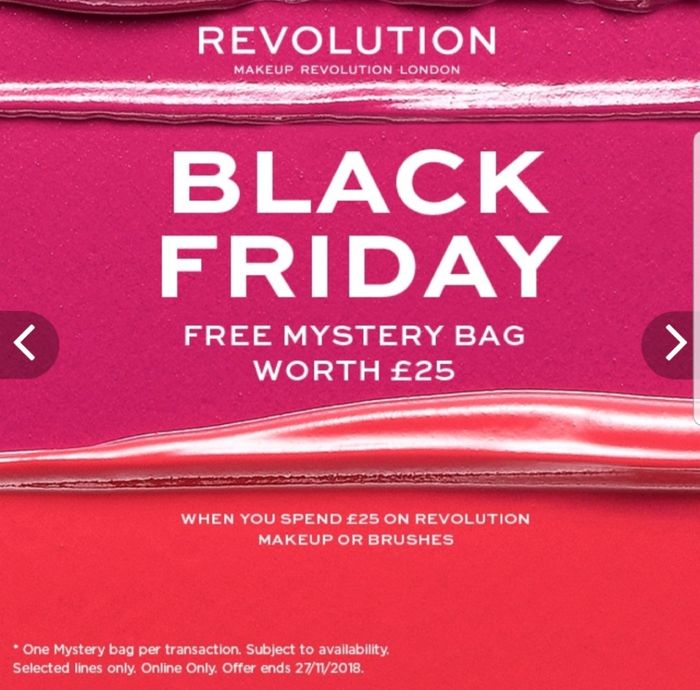 Revolution Deal - Free Mystery Bag + Free Palette (See Description)