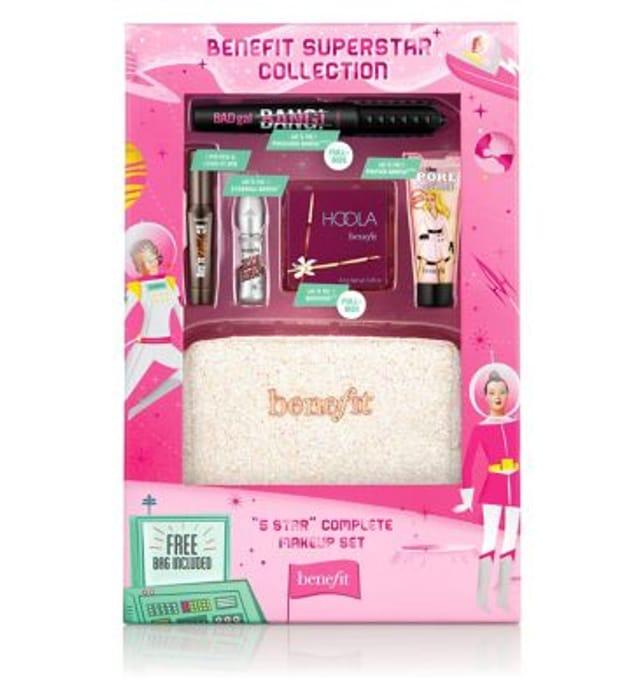Benefit Superstar Set + 500 Advantage Points + Free Makeover