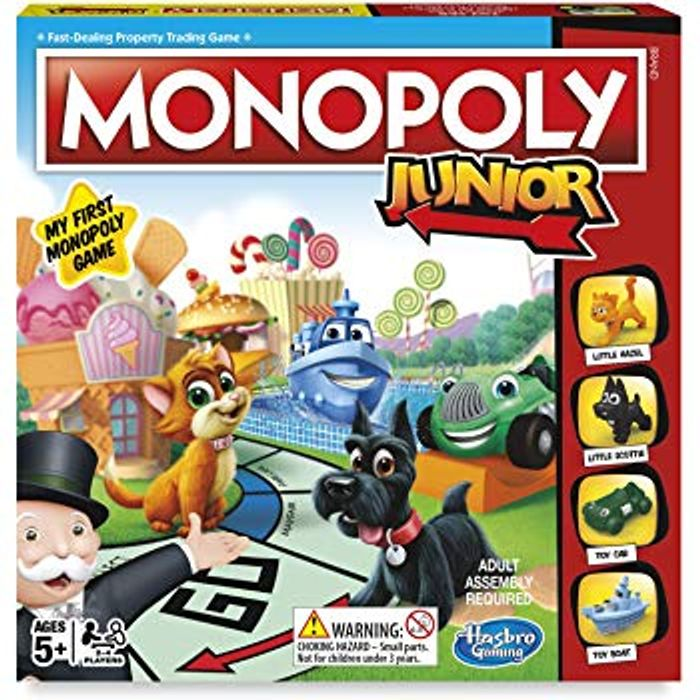 Monopoly Junior - The Board Game - AGE 5+