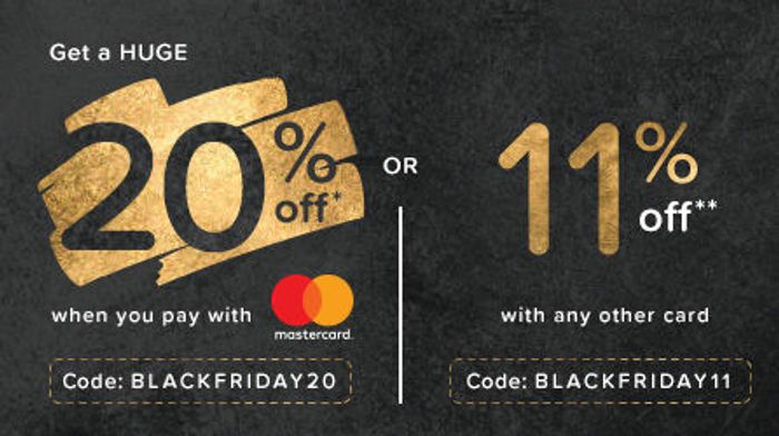 20% off Hotels.com for Mastercard / 11% off for Everyone Else