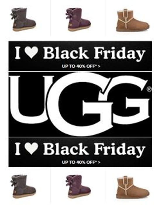 UGG! UGG BOOTS! I LOVE BLACK FRIDAY! UGG BOOTS! up to 40% Off ... 7da5b7706