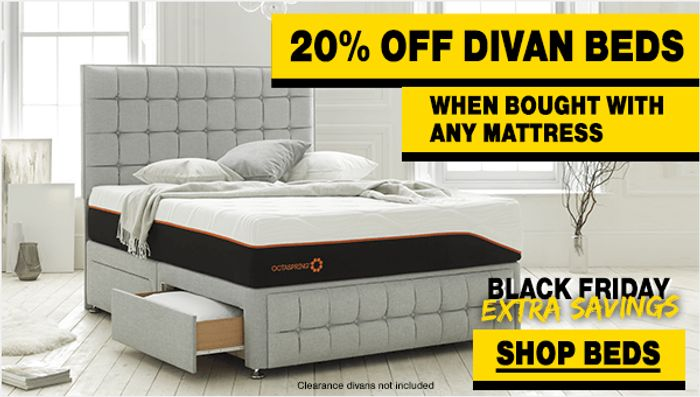 10% off Mattress Orders over £200 at Achica