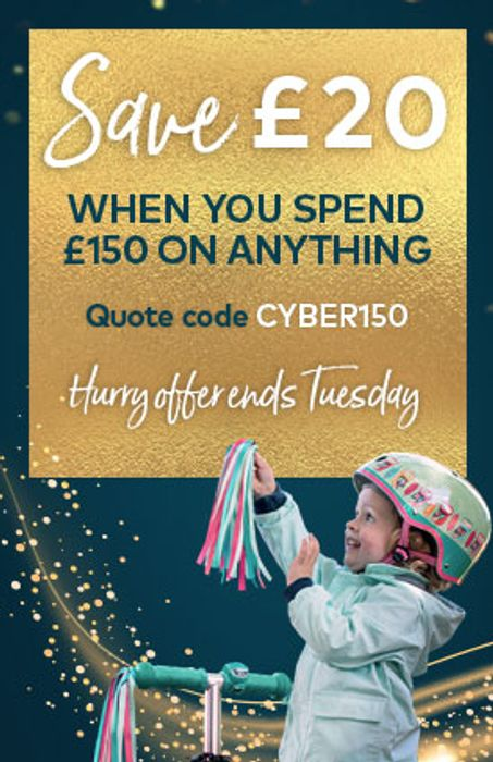 Save £20 When You Spend £150