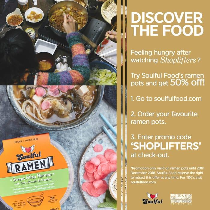 Get 50% off Soulful Food Ramen Pots