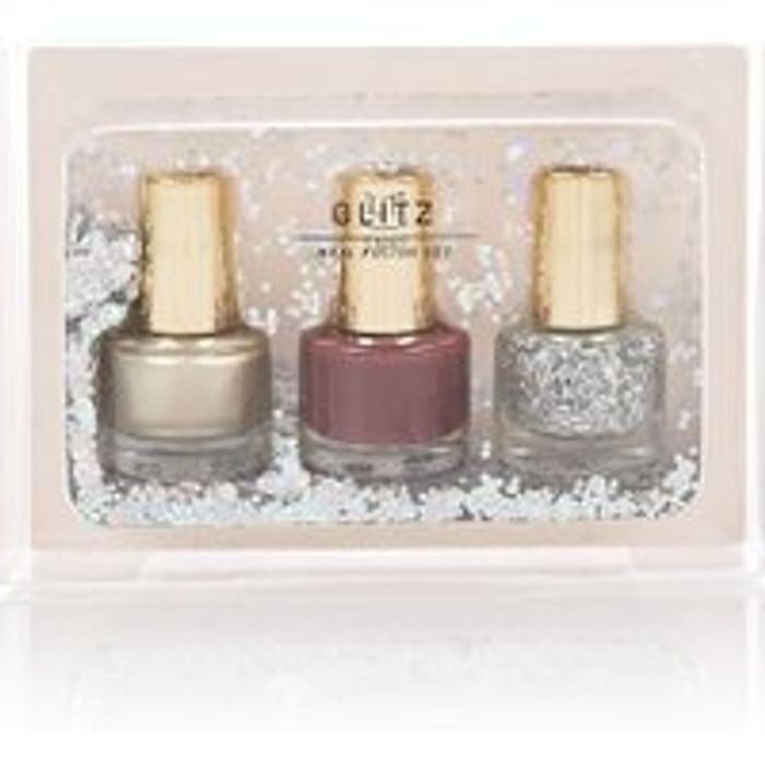 M&S COLLECTION Glitz Nail Polish Trio Set