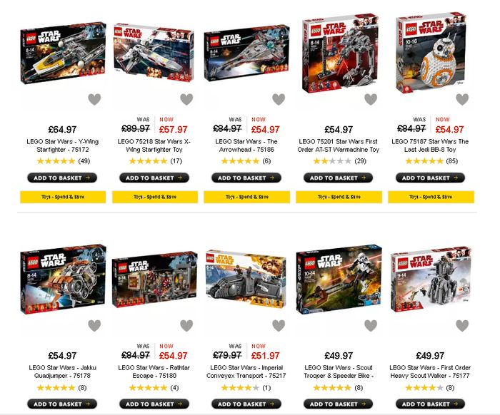 Offer Stack Reductions On Lego Star Wars Sets Plus Up To 20 Extra
