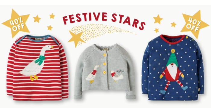 40% off Festive Stars