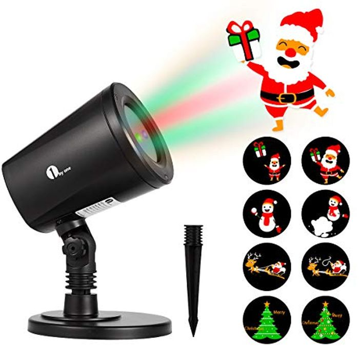 Santa Claus Christmas Light Projector - Only £14.40