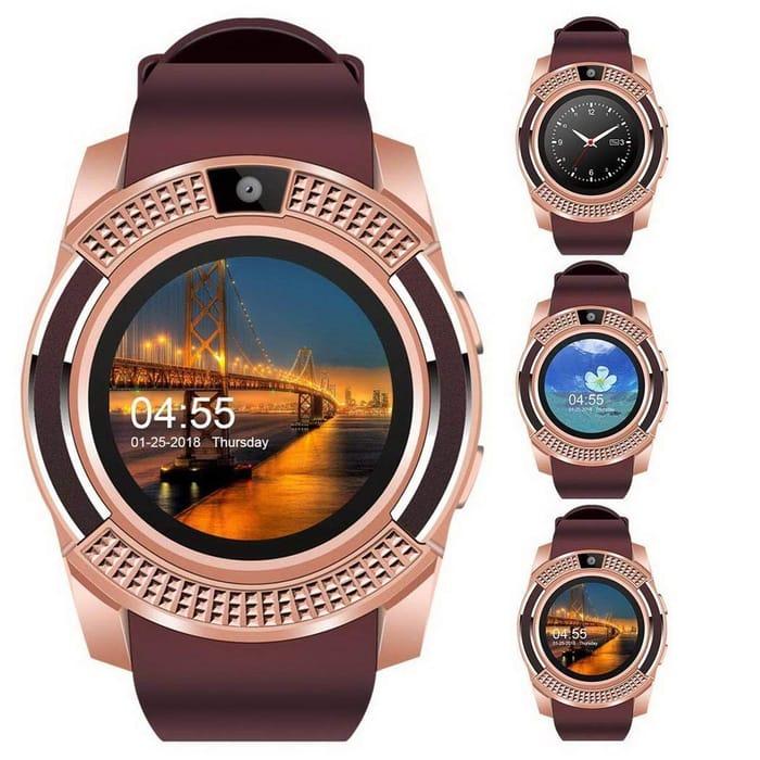 Bluetooth Smart Watch Fitness Pedometer Sleep Monitor Tracker
