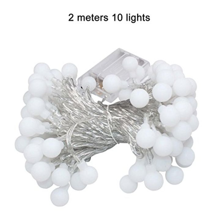 Teaio 10 LED 2M Globe String Lights (2M-£4, 3M-£6, 4M-£8)