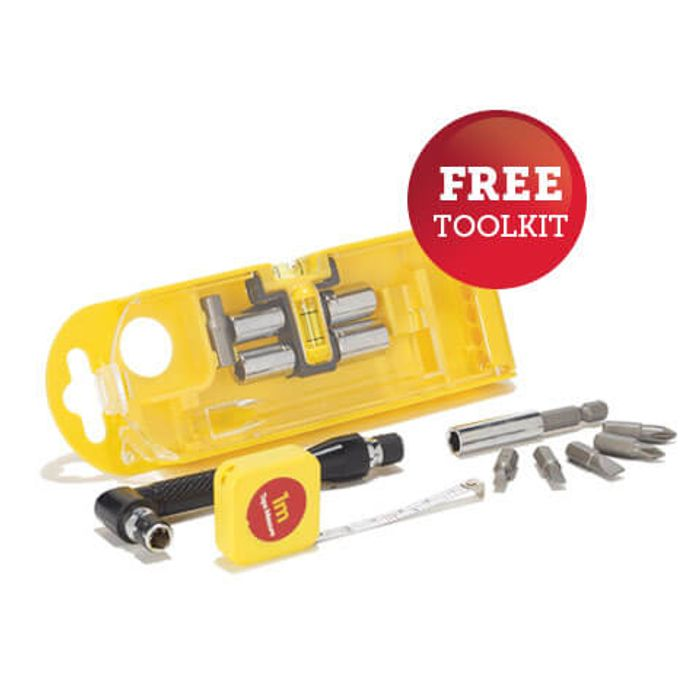 Free 15 Piece Toolkit