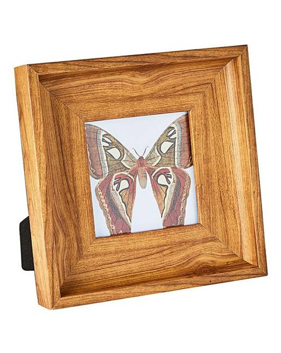 Wooden Effect Photo Frame 4x4in